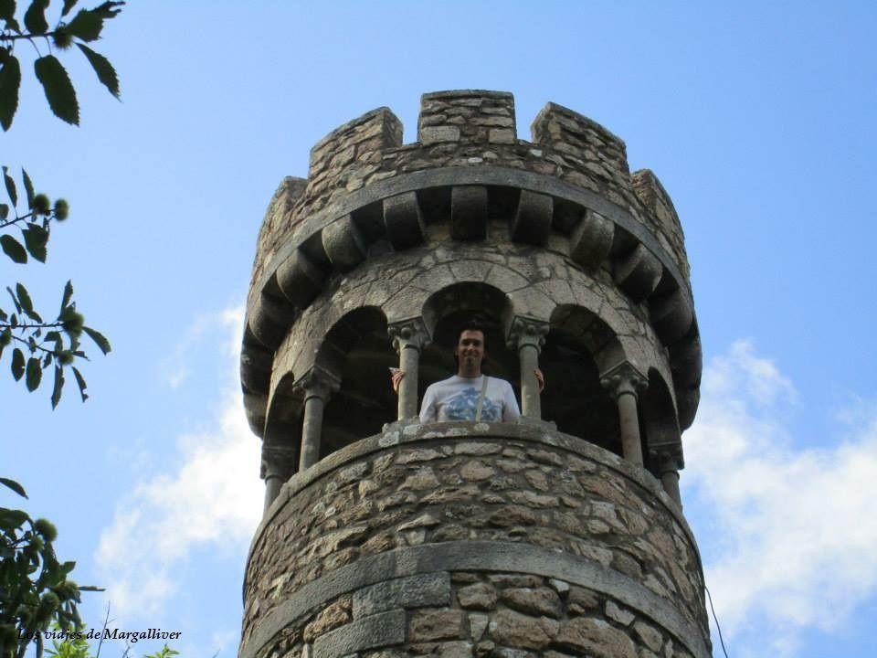 Torre de la Quinta de Regaleira en Sintra - Los viajes de Margalliver